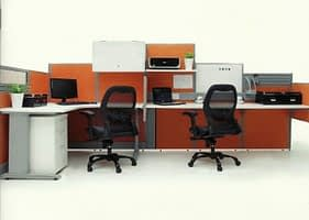 Slim Panel System Workstation