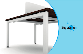 Office Workstation Square Series