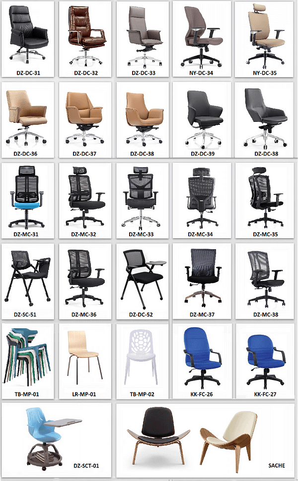 2021 Office Chairs Collection